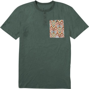 Cultus Pocket Henley Shirt - Short-Sleeve - Men's