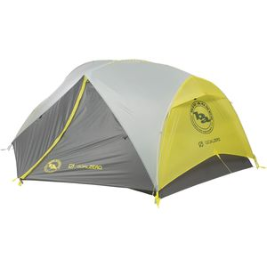 Big Agnes Krumholtz UL2 mtnGLO Tent with Goal Zero: 2-Person 3-Season