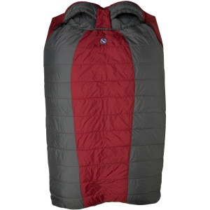 Big Agnes Cabin Creek Sleeping Bag: 15 Degree Synthetic