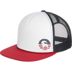 Backcountry American Flag Goat Trucker Hat