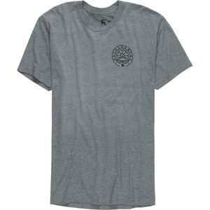 Backcountry Mountain Medallion Front and Back Graphic T-Shirt - Men's