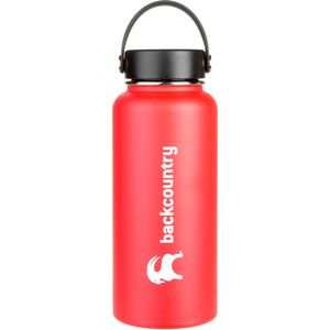 Backcountry Classic Logo Hydro Flask Bottle Water Bottle - 32oz