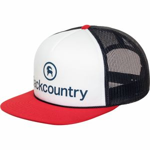 Backcountry Logo Flatbrim Trucker Hat