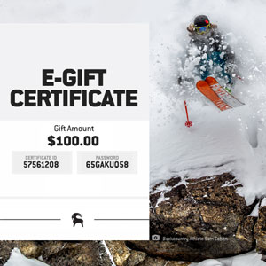 Backcountry eGift Card