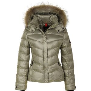 Bogner - Fire+Ice Sally Lightweight Metallic Ripstop Jacket with Fur - Women's