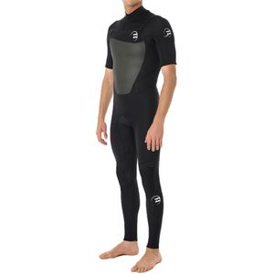Billabong Foil 2/2 Chest Zip Steamer Wetsuit - Short-Sleeve - Men's