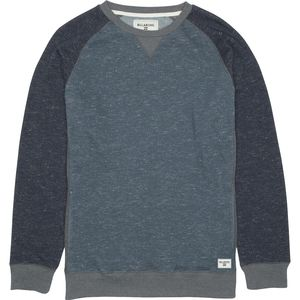 Billabong Balance Raglan Crew Neck Pullover Sweatshirt - Men's