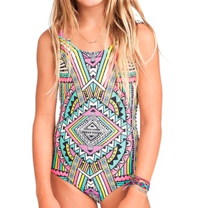 Billabong Stellar One Piece Swimsuit - Girls'