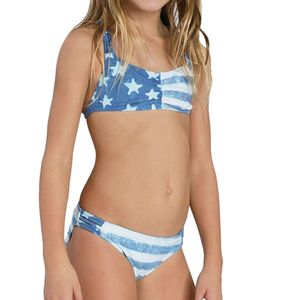 Billabong America Beautiful Tali Swimsuit - Girls'
