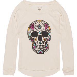 Billabong Sugar Skullz Thermal Shirt - Long-Sleeve - Girls'