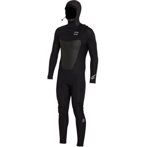 Billabong 5/4 Foil Plus Chest-Zip Hooded Full Wetsuit - Men's