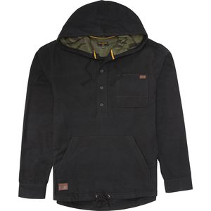 Billabong Rover Pullover Hooded Flannel Shirt - Long-Sleeve - Men's