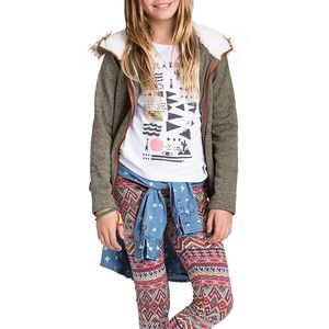 Billabong Good Day Fleece Hooded Sweater - Girls'