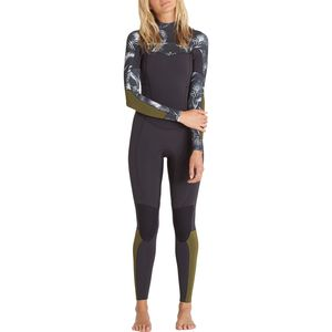 Billabong 4/3 Salty Dayz Chest-Zip Wetsuit - Women's