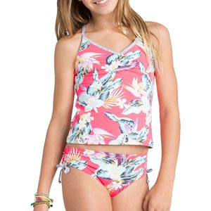 Billabong Aloha Yo Tankini Swimsuit - Girls'