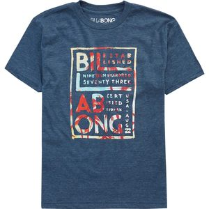 Billabong Brush Block T-Shirt - Short-Sleeve - Boys'