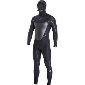 Billabong 504 Absolute X Chest Zip Hooded Wetsuit - Men's