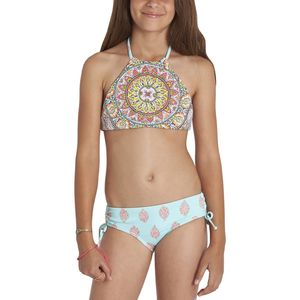 Billabong Samsara Hi Neck Swimsuit - Girls'