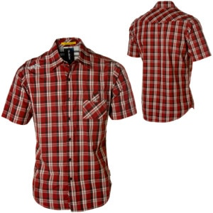 Billabong Midtown Plaid Shirt - Short-Sleeve - Mens