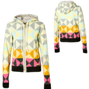 Billabong Kaleidoscope Full-Zip Hooded Sweatshirt - Womens