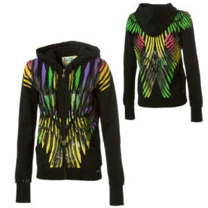 Billabong Clayton Full-Zip Hooded Sweatshirt - Womens