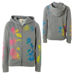 Billabong Daisy Girl Full-Zip Hooded Sweatshirt - Girls