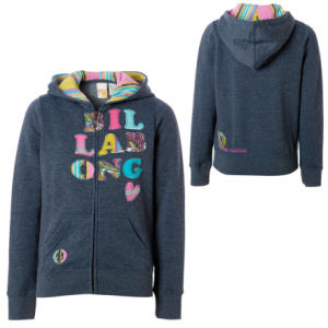 Billabong Hippie Dippie Full-Zip Hooded Sweatshirt - Girls