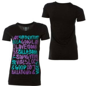Billabong Say It Loud T-Shirt - Short-Sleeve - Womens