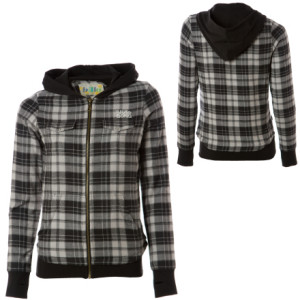 Billabong Lumberjack Full-Zip Hooded Sweatshirt - Womens