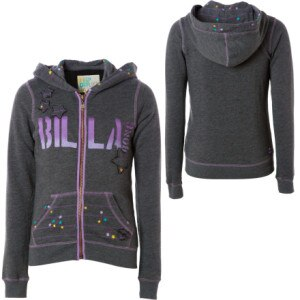 Billabong Andie Full-Zip Hooded Sweatshirt - Little Girls