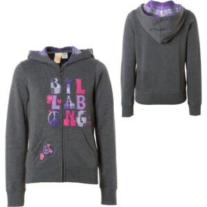 Billabong Kallycool Full-Zip Hooded Sweatshirt - Little Girls