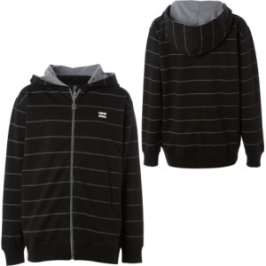 Billabong Cleanup Full-Zip Hooded Sweatshirt - Boys
