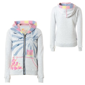 Billabong Nimbus Full-Zip Hooded Sweatshirt - Girls
