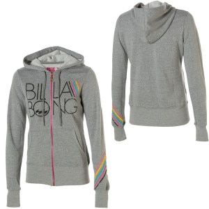 Billabong Beat Street Full-Zip Hooded Sweatshirt - Womens