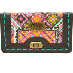 Billabong Hello Stranger Checkbook Wallet - Womens