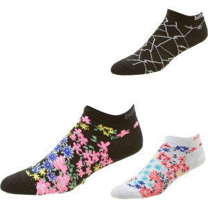 Billabong Low Down Ankle Sock - Womens - 3 Pack