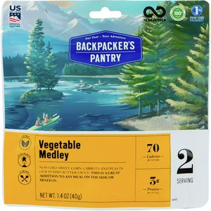 Backpacker's Pantry Vegetable Medley (peas,carrots,corn)