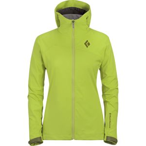 Black Diamond Dawn Patrol LT Hooded Softshell Jacket - Women's