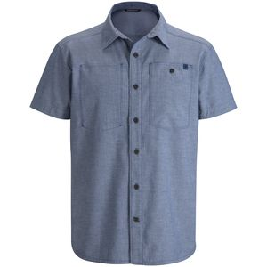 Black Diamond Chambray Modernist Shirt - Short-Sleeve - Men's