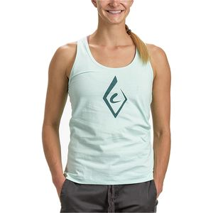 Black Diamond Brushstroke Tank Top - Women's