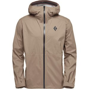 Black DiamondStormline Stretch Rain Shell Jacket - Men's