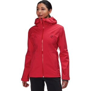 Black DiamondStormline Stretch Rain Shell - Women's