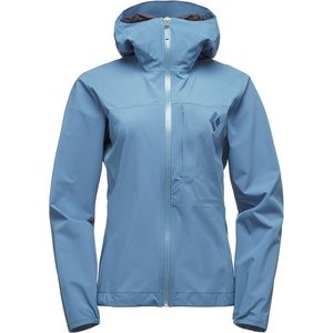 Black DiamondFineline Stretch Rain Shell - Women's
