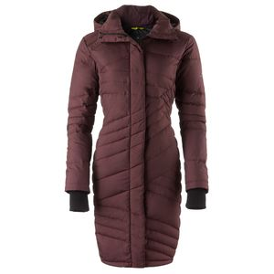 Basin and Range Evergreen Quilted Down Coat - Women's