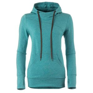 Basin and Range Cobblestone Comfort Wrap Neck Sweatshirt - Women's