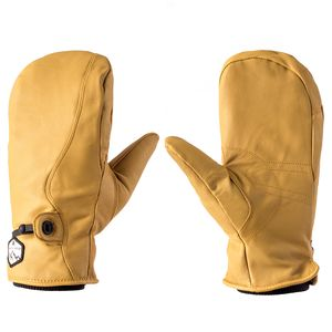 Basin and Range Leather Work Mitten
