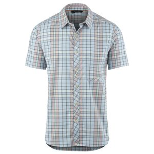 Basin and Range Flying Dog Plaid Shirt - Short-Sleeve - Men's
