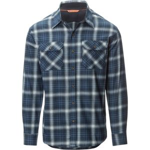 Basin and Range Woodside Hombre Midweight Quick-Dry Flannel Shirt - Men's