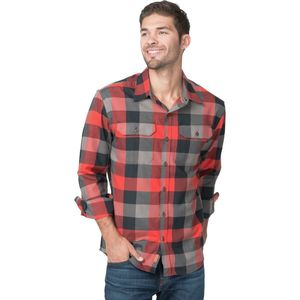 Basin and Range Woodside Buffalo Plaid Midweight Quick-Dry Flannel Shirt - Men's