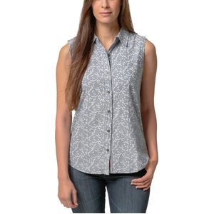Basin and Range Red Butte Boyfriend Sleeveless Shirt - Women's
